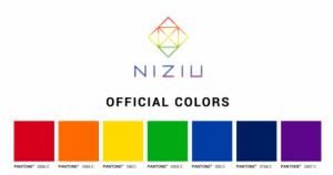 NiziU 公式グループカラー