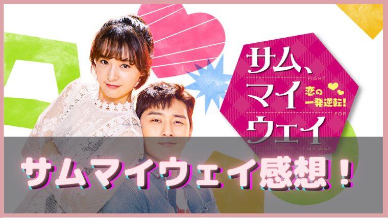 韓国ドラマ サムマイウェイ 感想